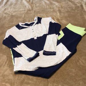 Justice Warmup Pants and Tee Shirt